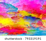 the colors in the series  fancy ... | Shutterstock . vector #793319191