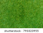 green lawn for background.... | Shutterstock . vector #793323955