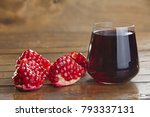 delicious juice from ripe... | Shutterstock . vector #793337131