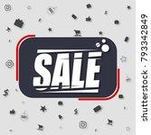 sale banner template design....   Shutterstock .eps vector #793342849