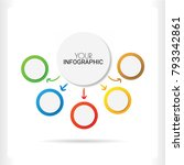 ifographics number options...   Shutterstock .eps vector #793342861
