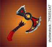 magic antique battle axe....