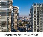 north tel aviv  israel  ... | Shutterstock . vector #793375735