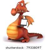 dragon   Shutterstock . vector #79338097