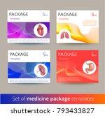 set of medicine package... | Shutterstock .eps vector #793433827