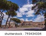 rome  italy   30 april  2017  ... | Shutterstock . vector #793434334