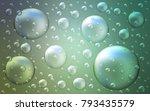 light blue  green vector... | Shutterstock .eps vector #793435579