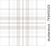 plaid check pattern in grey ... | Shutterstock .eps vector #793455325