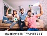 group of multi national...   Shutterstock . vector #793455961