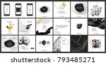 design photography portfolio ... | Shutterstock .eps vector #793485271
