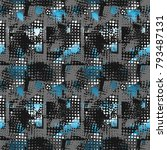 abstract seamless grunge urban... | Shutterstock .eps vector #793487131