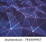 3d illustration  abstract... | Shutterstock . vector #793509907