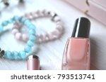 beautiful objects of woman... | Shutterstock . vector #793513741
