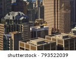 downtown  vancouver  canada  ... | Shutterstock . vector #793522039