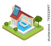 flat isometric alternative... | Shutterstock .eps vector #793533997