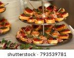 catering service. street food ...   Shutterstock . vector #793539781