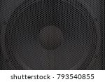 hi end loudspeakers. monitor... | Shutterstock . vector #793540855