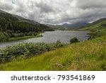llynnau mymbyr are two lakes...