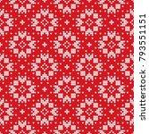 traditional scandinavian... | Shutterstock .eps vector #793551151