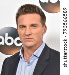 Small photo of LOS ANGELES - JAN 08: Steve Burton arrives for the ABC Winter 2018 TCA Event on January 08, 2018 in Pasadena, CA