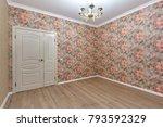 empty room after repair | Shutterstock . vector #793592329