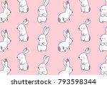 vector illustration pattern... | Shutterstock .eps vector #793598344