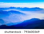 this is the view from nag tibba ...   Shutterstock . vector #793600369