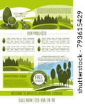landscape design  build and... | Shutterstock .eps vector #793615429