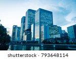building in japan | Shutterstock . vector #793648114