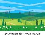 Green Valley Landscape....