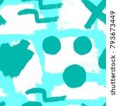abstract seamless grunge... | Shutterstock .eps vector #793673449