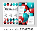 abstract vector layout... | Shutterstock .eps vector #793677931