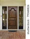 ������, ������: The wooden front door