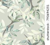 Leaves Seamless Pattern....