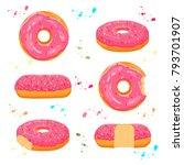 abstract vector icon... | Shutterstock .eps vector #793701907