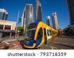 gold coast  queensland... | Shutterstock . vector #793718359