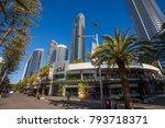 gold coast  queensland... | Shutterstock . vector #793718371
