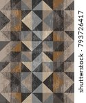 gray and brown textured... | Shutterstock . vector #793726417