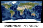 complete earth view from space. ...   Shutterstock . vector #793738357