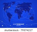 vector illustration night... | Shutterstock .eps vector #79374217