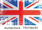 flag of the united kingdom ... | Shutterstock . vector #793758295