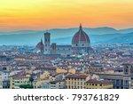 Florence Sunset City Skyline...
