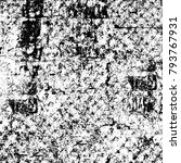 abstract grunge grey dark... | Shutterstock . vector #793767931