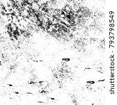 abstract grunge grey dark... | Shutterstock . vector #793798549