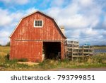 Old Lobster Barn On The Baltic...