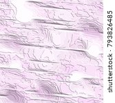 violet fanciful 3d pattern with ... | Shutterstock .eps vector #793826485
