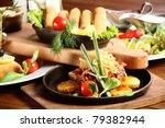 food   Shutterstock . vector #79382944
