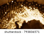 christmas shiny glitter light... | Shutterstock . vector #793836571