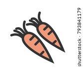 carrots  fresh  leaf