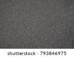 surface grunge rough of asphalt ... | Shutterstock . vector #793846975